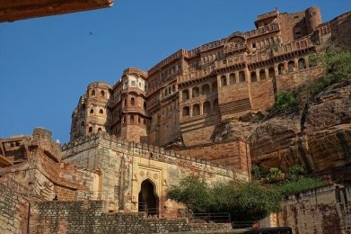 Mehrangarh fort in Jodhpur, Rajasthan Rajasthan road trip from Delhi