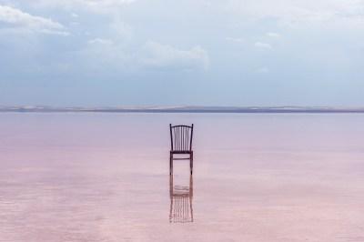 Lake Tuz - pink lake near Cappadocia