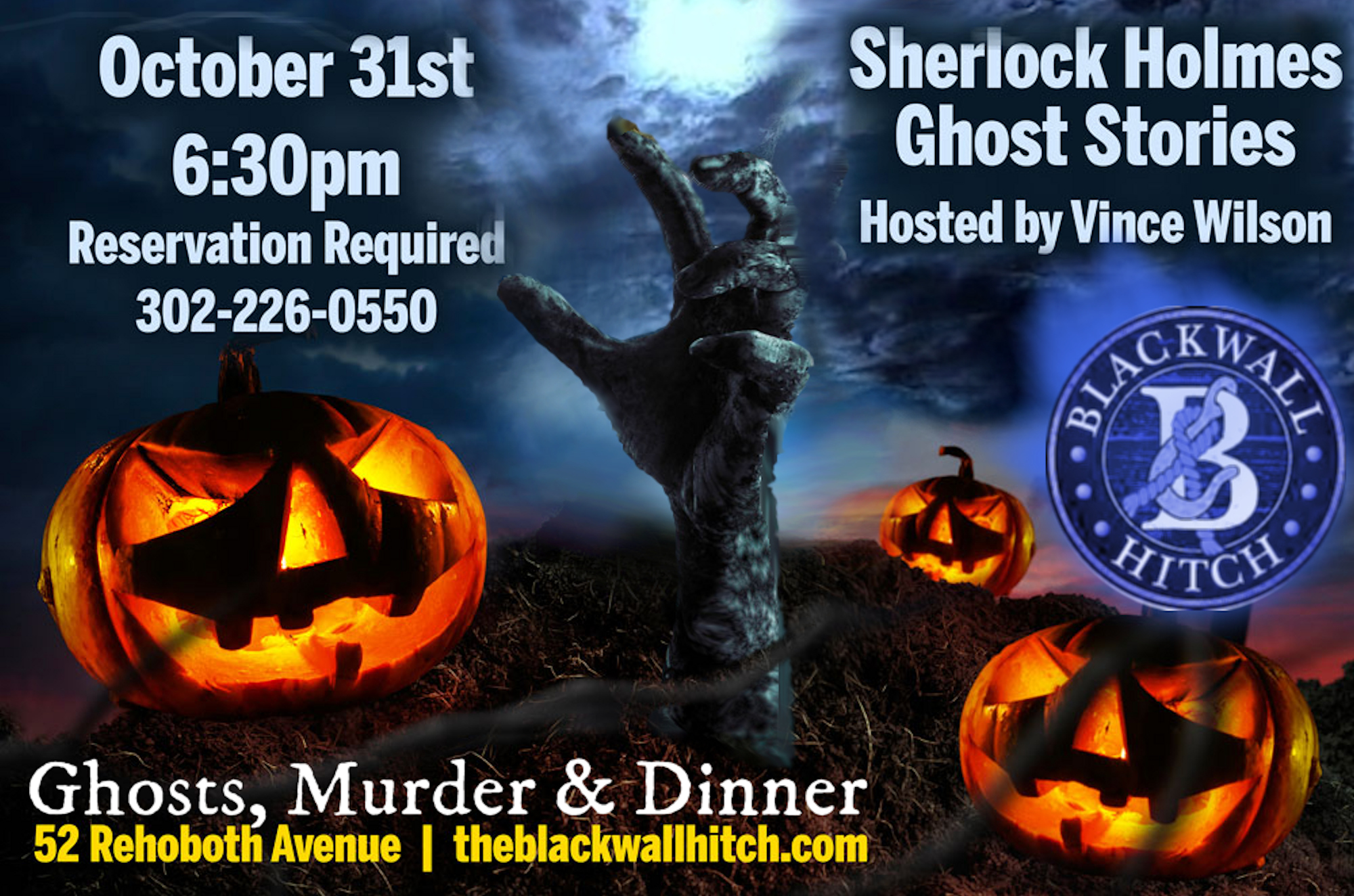 ghosts of sherlock holmes at blackwall hitch - magic and murder