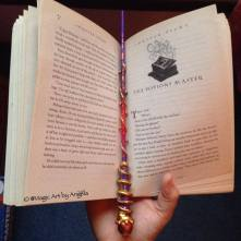 """""""What Makes a Better Bookmark Than a Wand"""""""