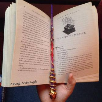 """What Makes a Better Bookmark Than a Wand"""