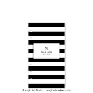 Dashboard Listras Preto - tamanho Personal