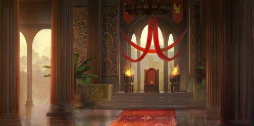throne concept deviantart tyleredlinart medieval room pokemon fantasy castle edlin tyler palace hall digital guild rp insurgence ic seen magic
