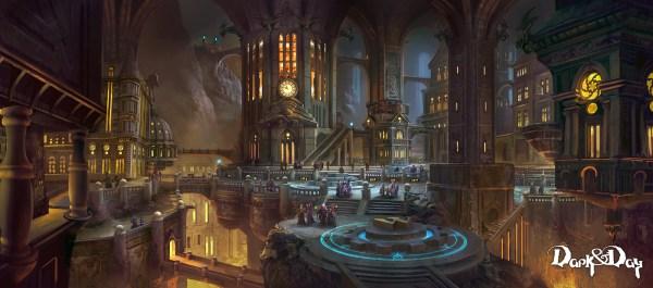 Concept Art Tyler Edlin Magic World