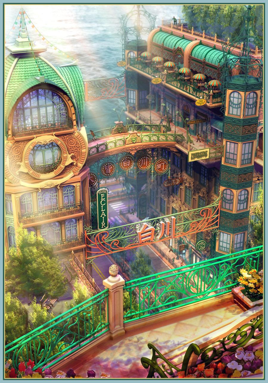 Minecraft Animation Wallpaper 3d Background Illustrations By Owen Carson Magic Art World