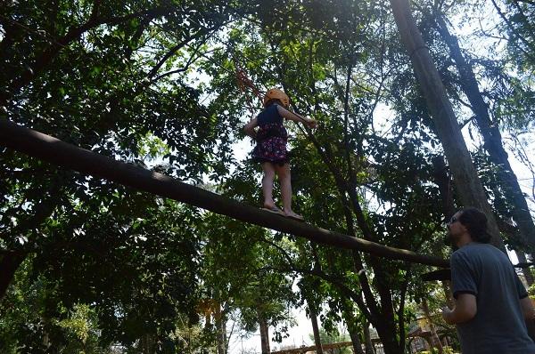 Santa Clara Eco Resort Arvorismo Infantil