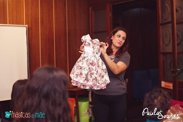 Vestidos infantis Ana Giovanna