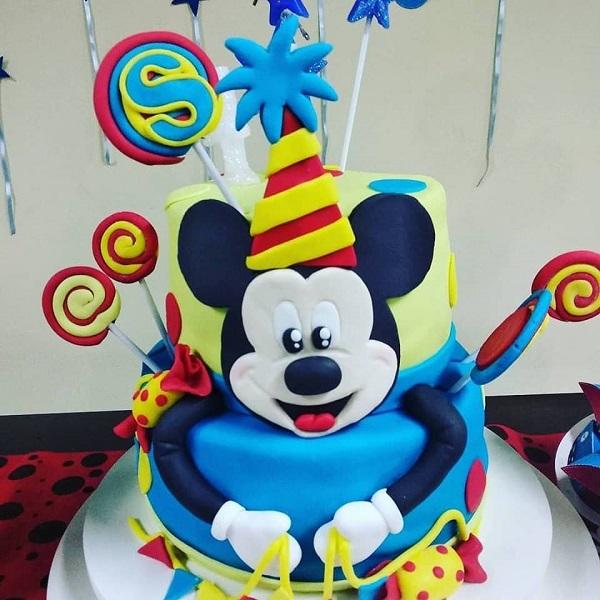 bolos decorados infantis