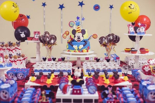Festa Mickey Mouse - Decoração Papelaria Personalizada