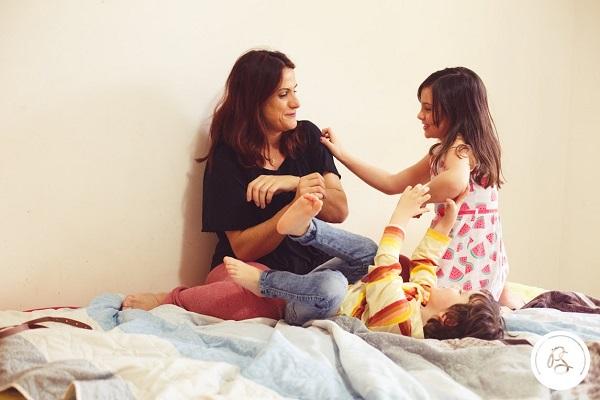 feia por causa da maternidade