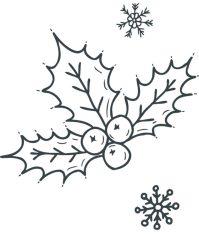 Disegni di Natale da colorare: BELLISSIMI! Babbo Natale ...