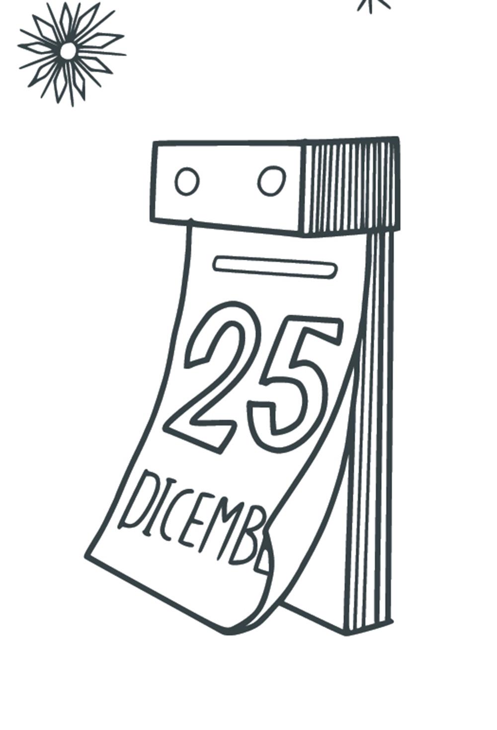 Disegni di Natale da colorare BELLISSIMI Babbo Natale Albero Calza