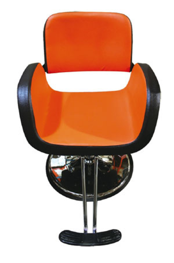 orange chair salon cast aluminum patio chairs y75 1 d brown styling furniture tools