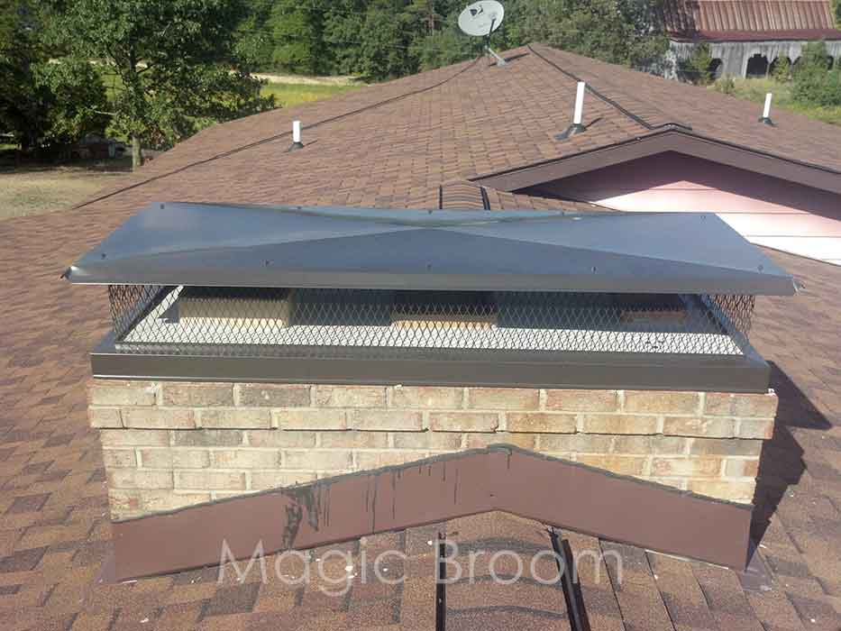 Chimney Caps  Dampers  Southern MD  Magic Broom Chimney Sweeps