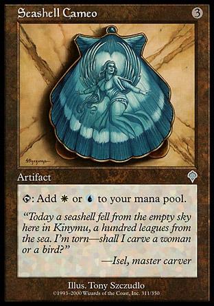 Seashell Cameo