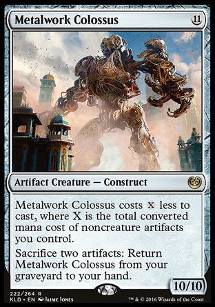 Metalwork Colossus