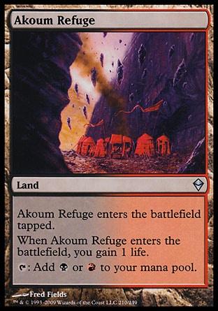 MTG Card: Akoum Refuge