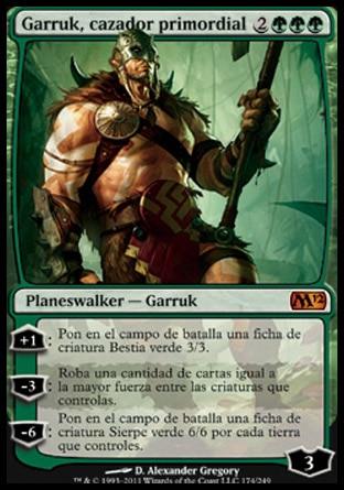 Carta Garruk, cazador primordial