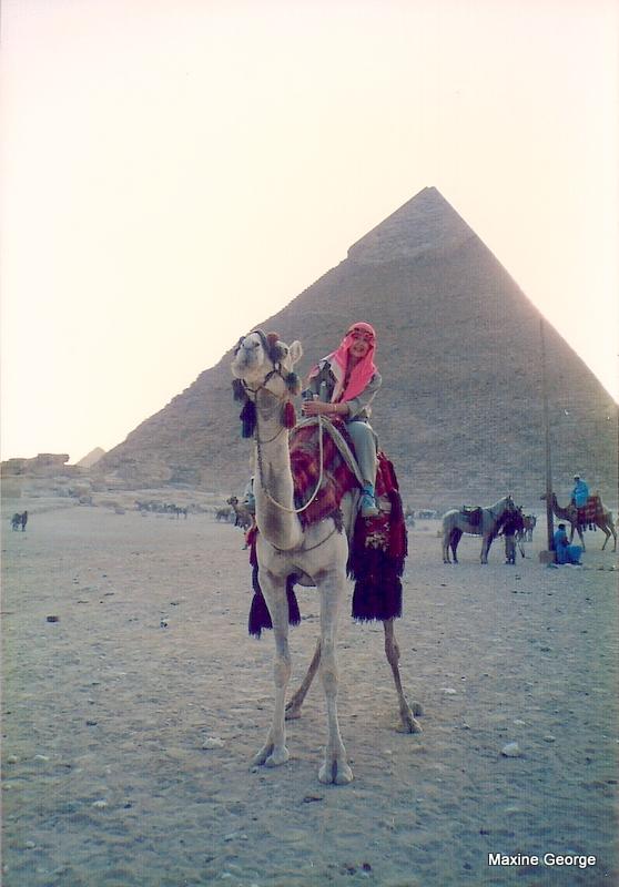 great pyramid camel ride