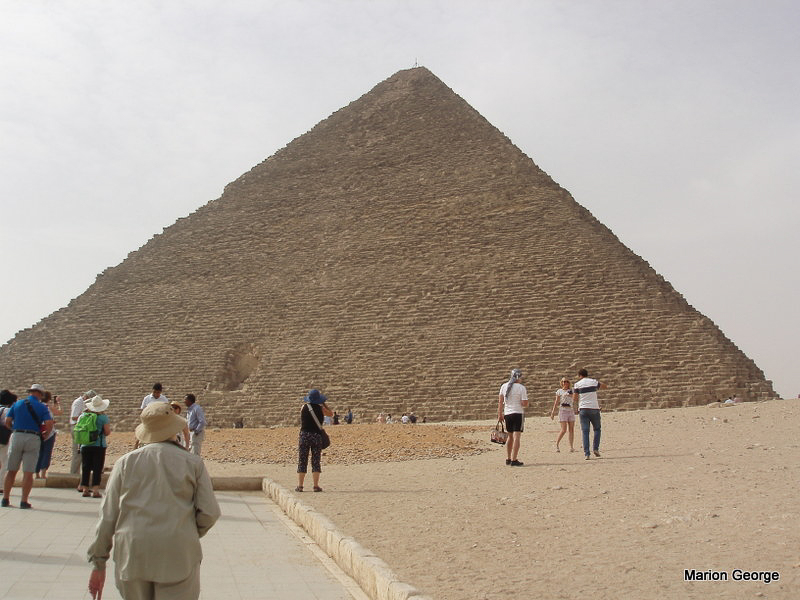 The Great Pyramid or Cheops, built by Khufu
