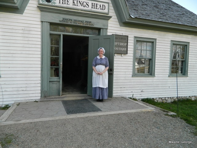 King's Landing, a living museum by the St. John River New Brusnwick
