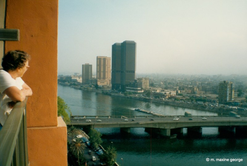 Cairo in the morning as viewed from the Cairo Marriot