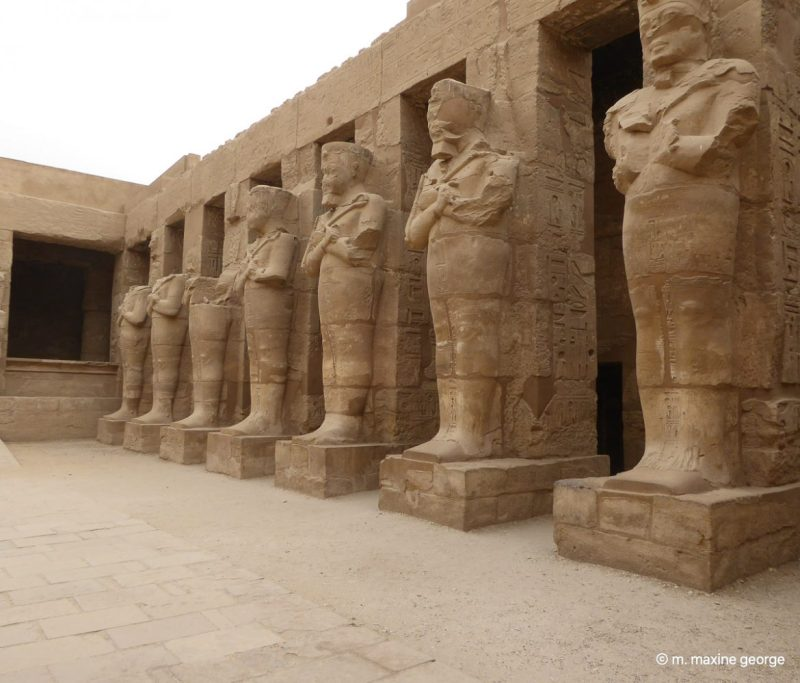 Status at Karnak Temple Luxor