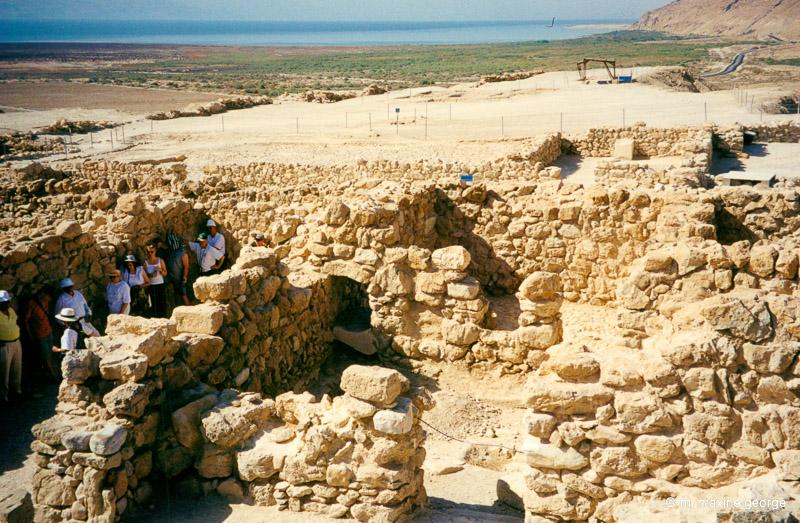 Qumran, where the Dead Sea scrolls were written