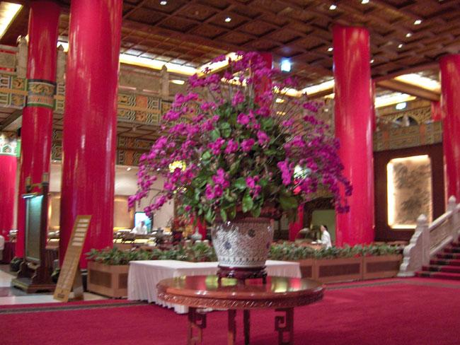 Lobby of the Grand Hotel, Taipei, Taiwan