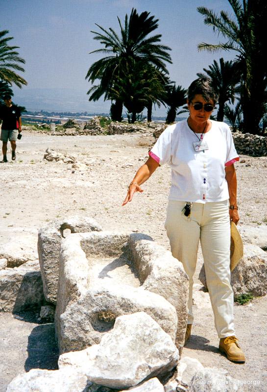 Mager, Solomons stables, megiddo israel
