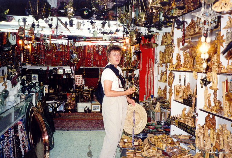 Shopping in Jerusalem's Old City