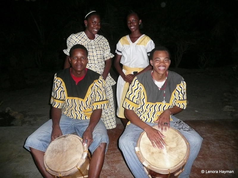 "Garifuna Drummers ""Drumming of Belize"" at Hopkins Resort"