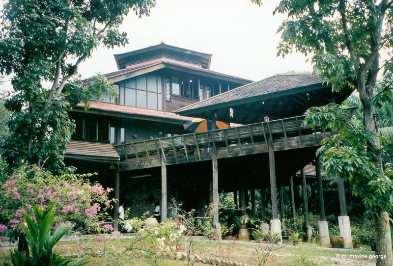 Rudinera, the hand built house by master craftsman Ibrahim Adam.