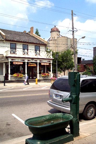 A horse trough on St. Jacob's street