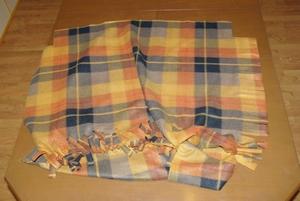 No-Sew Babywearing Fleece Poncho With Fringe, revised (5/6)