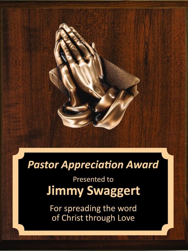 pastor plaque