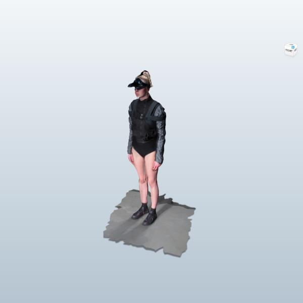 a 3d scanned body made by Jakob kok