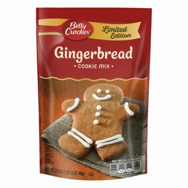 Gingerbread cookie mix for Scooby Snacks