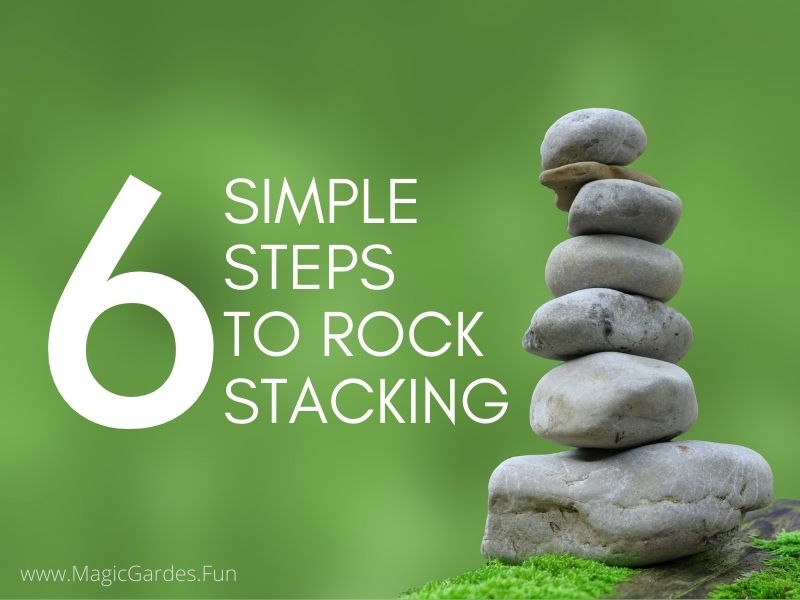 6 simple steps to rock stacking with rocks stacked