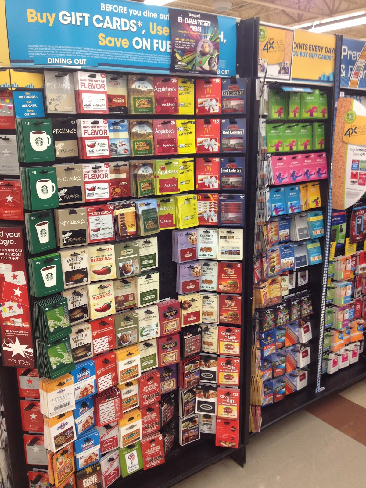 disney gift cards at kroger