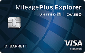 mileage plus explorer credit card