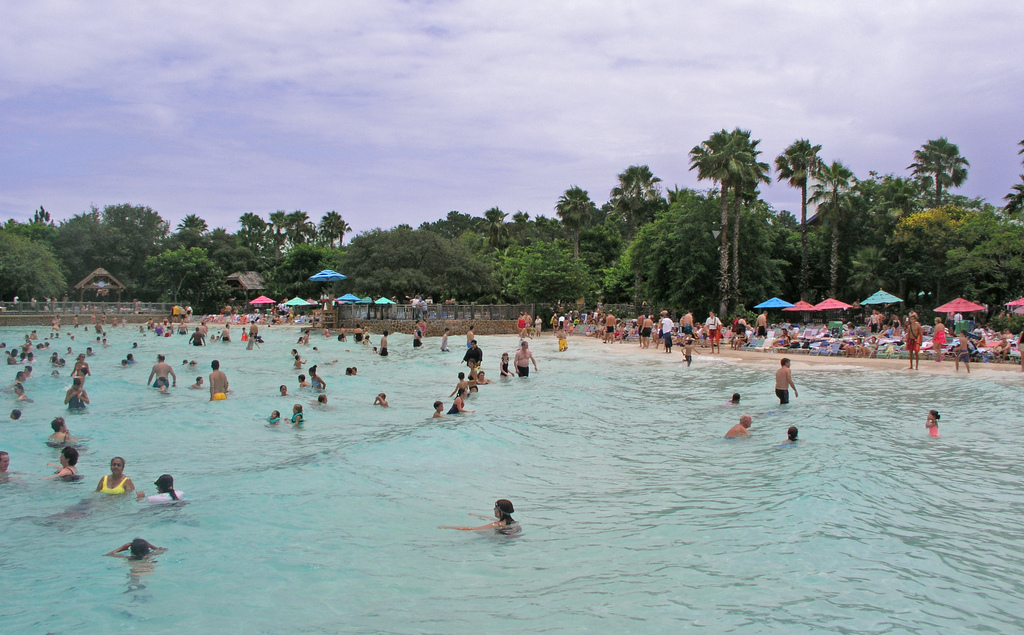 blizzard beach wave pool
