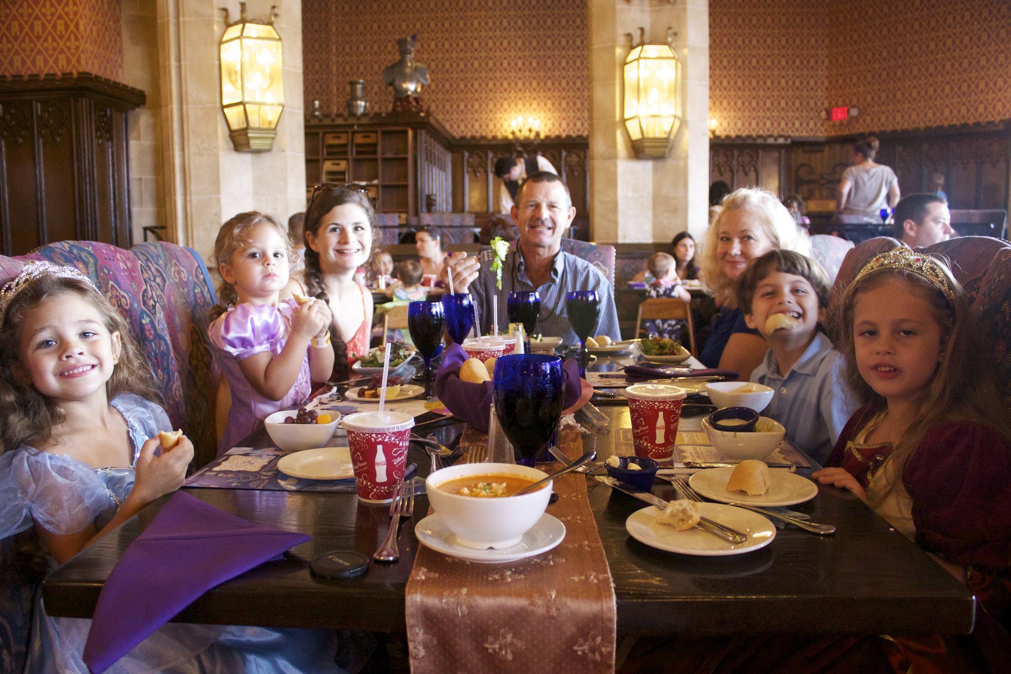 Cinderella's Royal Table character dining