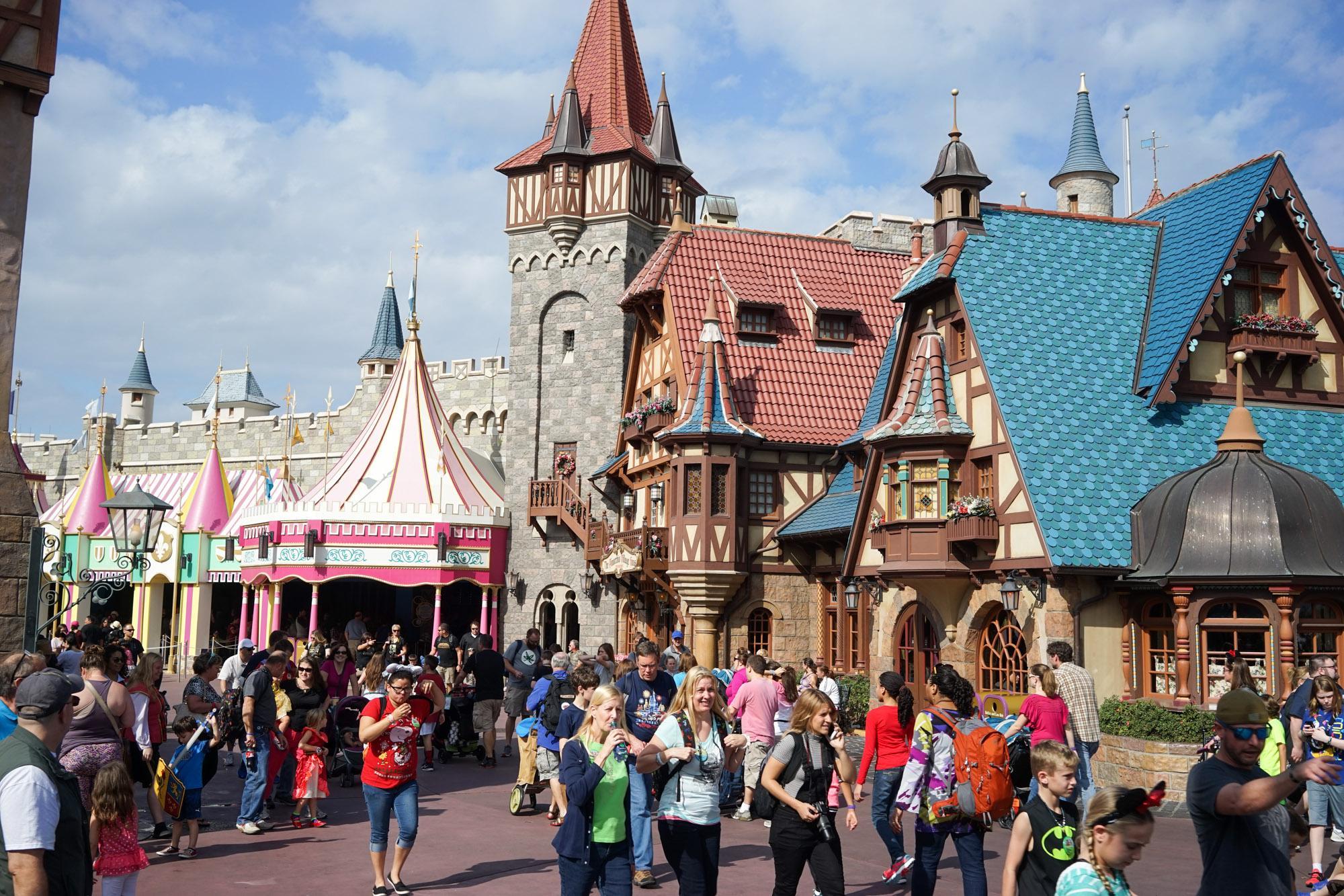 Disney VIP tour sharing