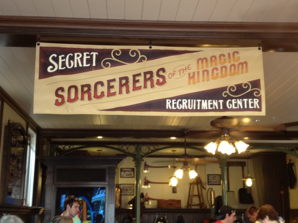Sorcerers of the Magic Kingdom card game at Disney World