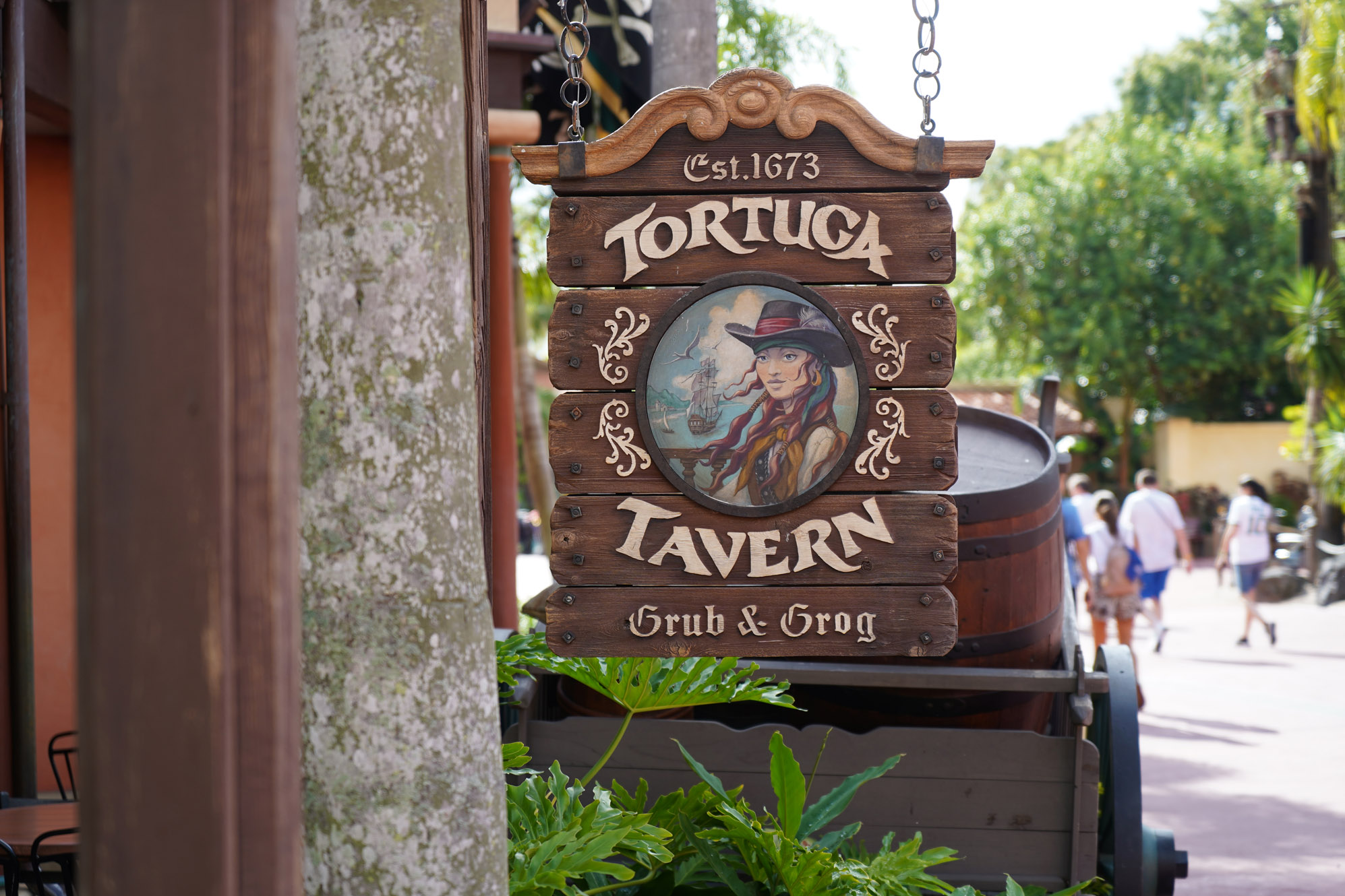 Disneyland vs Disney World restaurants