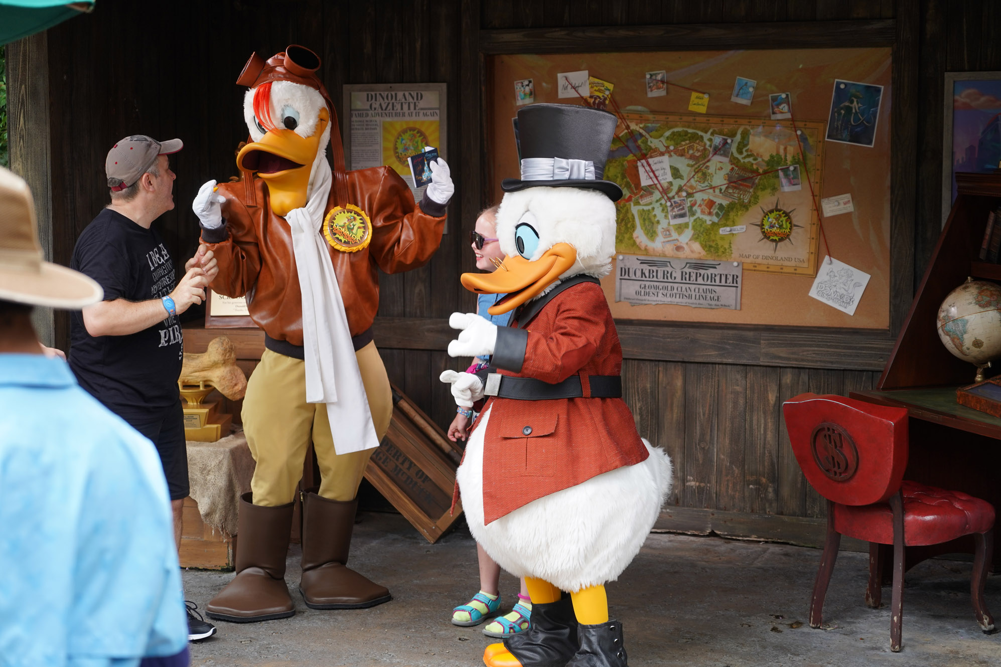 best disney character dining