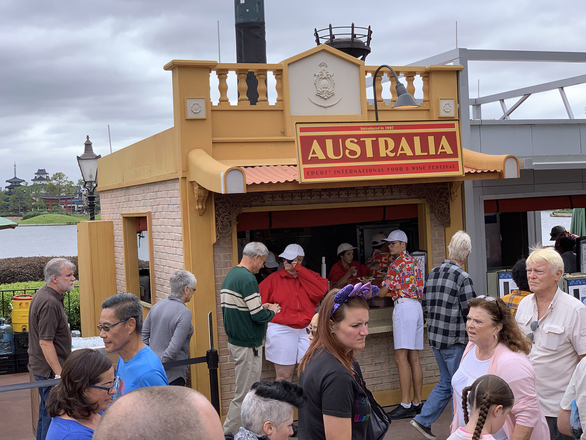 countries at Epcot International Food & Wine Festival