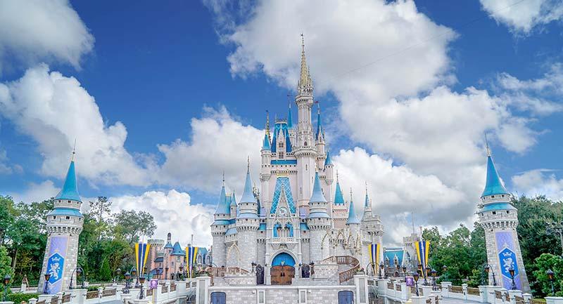 Disney World Cinderella Castle HDR