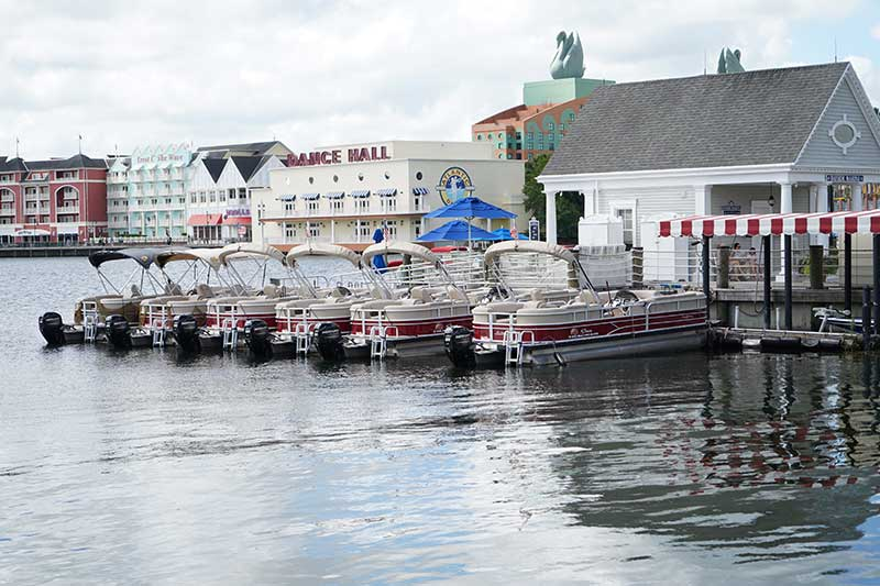 boat rentals at disney world